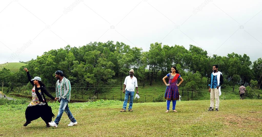 KODAIKANAL, INDIA - JUNE 30TH, 2015: film shooting spots