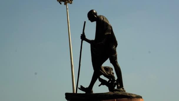 Mahatma Gandhi socha v Chennai Marina Beach