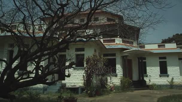 Haus außen, Horrorhaus, Nacht