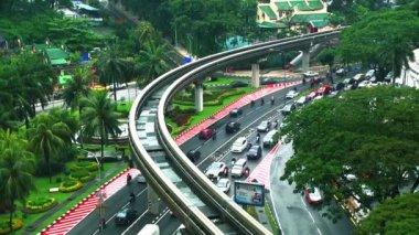 MALAYSIA - JULY 02, 2016: Kuala Lumpur city in Malaysia capital, tall buildings.