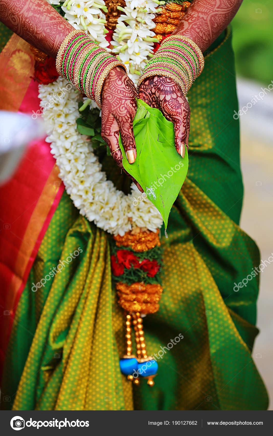 Sudindische Hochzeit Rituale Hochzeit Zeremonie Mit Girlanden