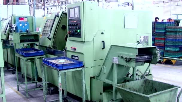 Indie - 03 března 2018: Cnc frézovací stroje mise na Factory