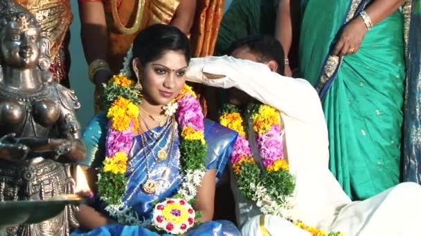 Indien 15 Marz 2018 Hindu Hochzeitszeremonie Hochzeit Zeremonie