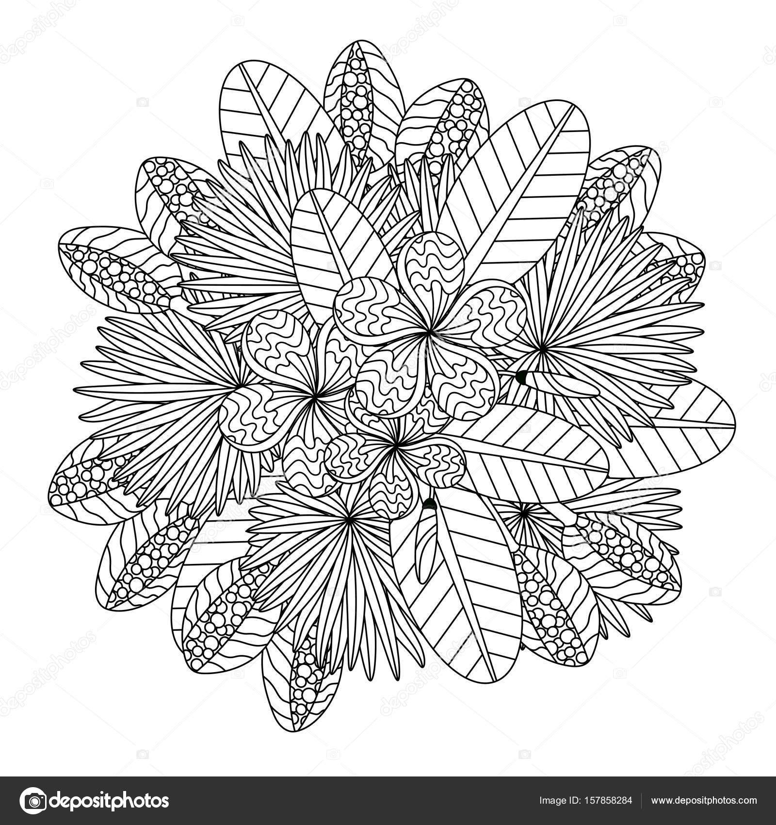 Ilustración de vector de trópico — Vector de stock © trihubova.gmail ...