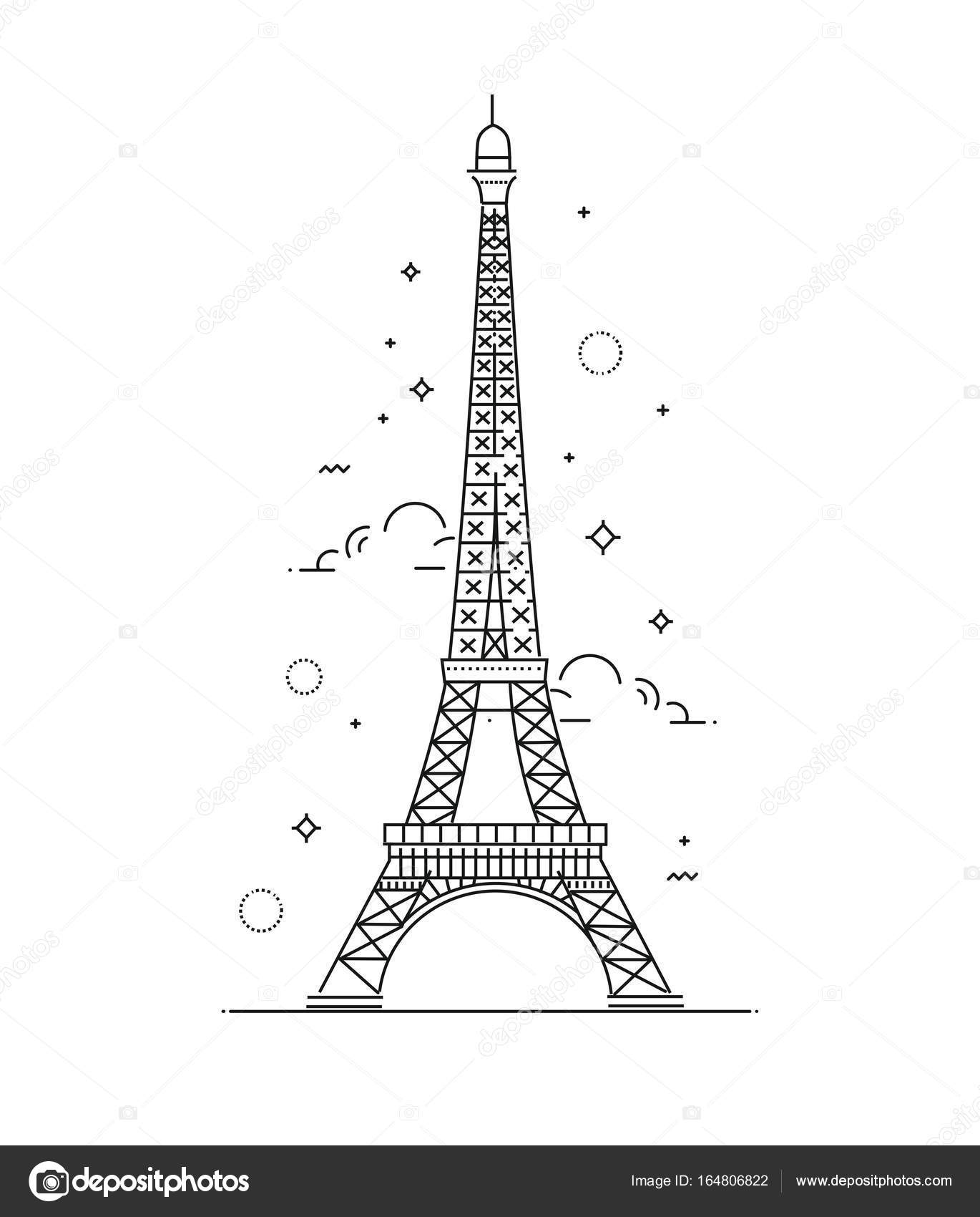 Vector eiffel tower paris icon design stock vector tettygreen vector eiffel tower paris icon design stock vector thecheapjerseys Gallery
