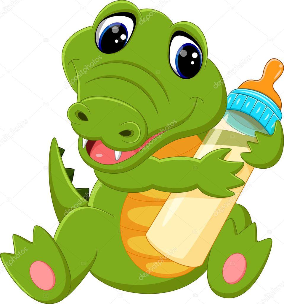 Dessin anim mignon crocodile image vectorielle hermandesign2015 130134732 - Dessin anime crocodile ...