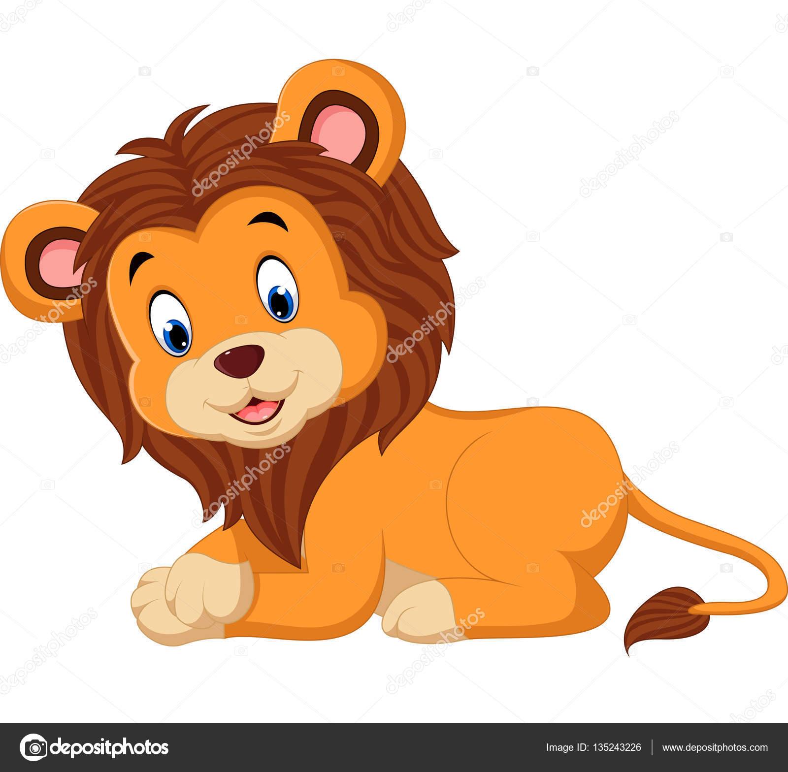 Cute Cartoon Lion Stock Vector C Hermandesign2015 Gmail Com