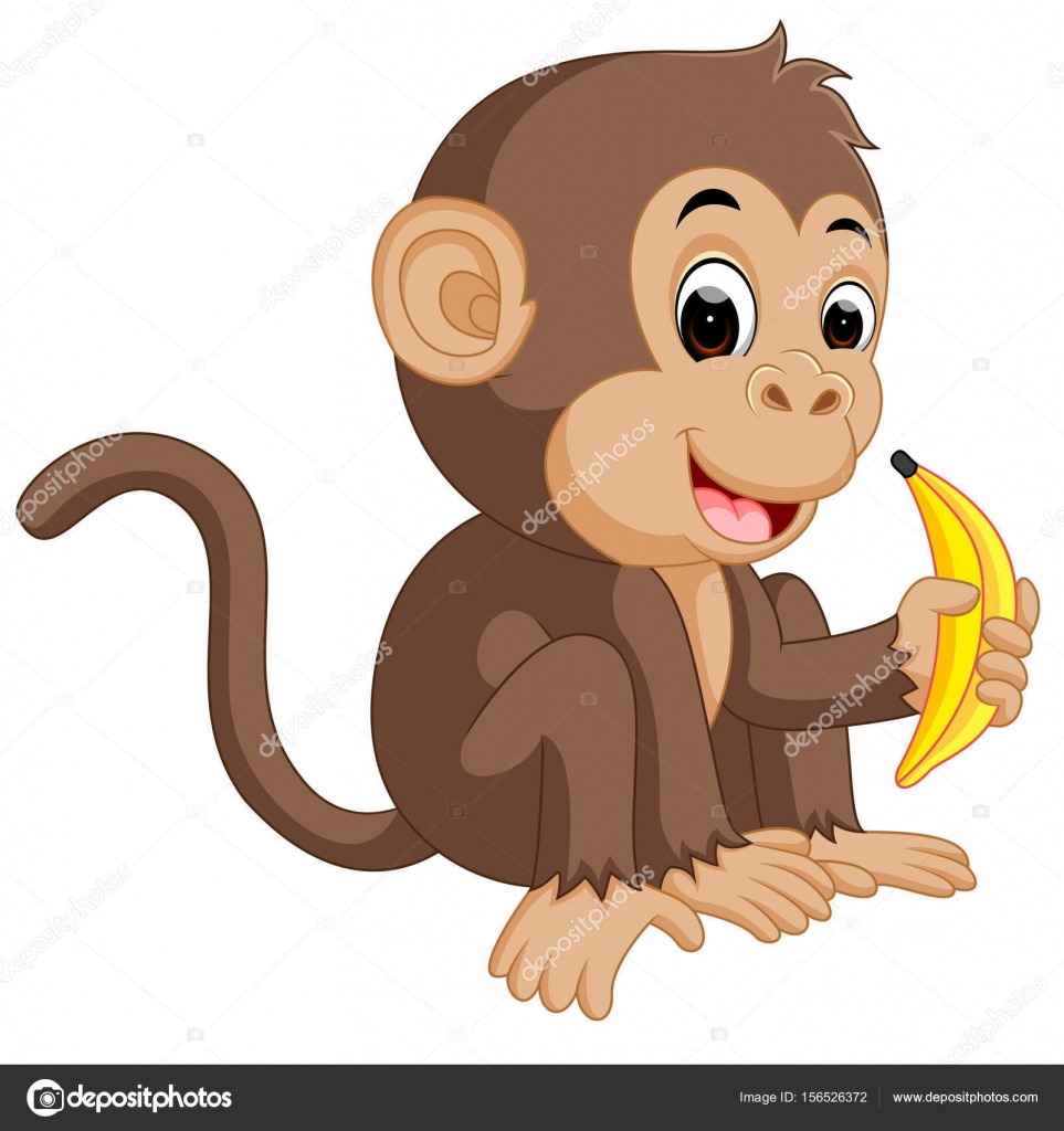 monkey eating banana cartoon ipad clip art free ipad clip art free