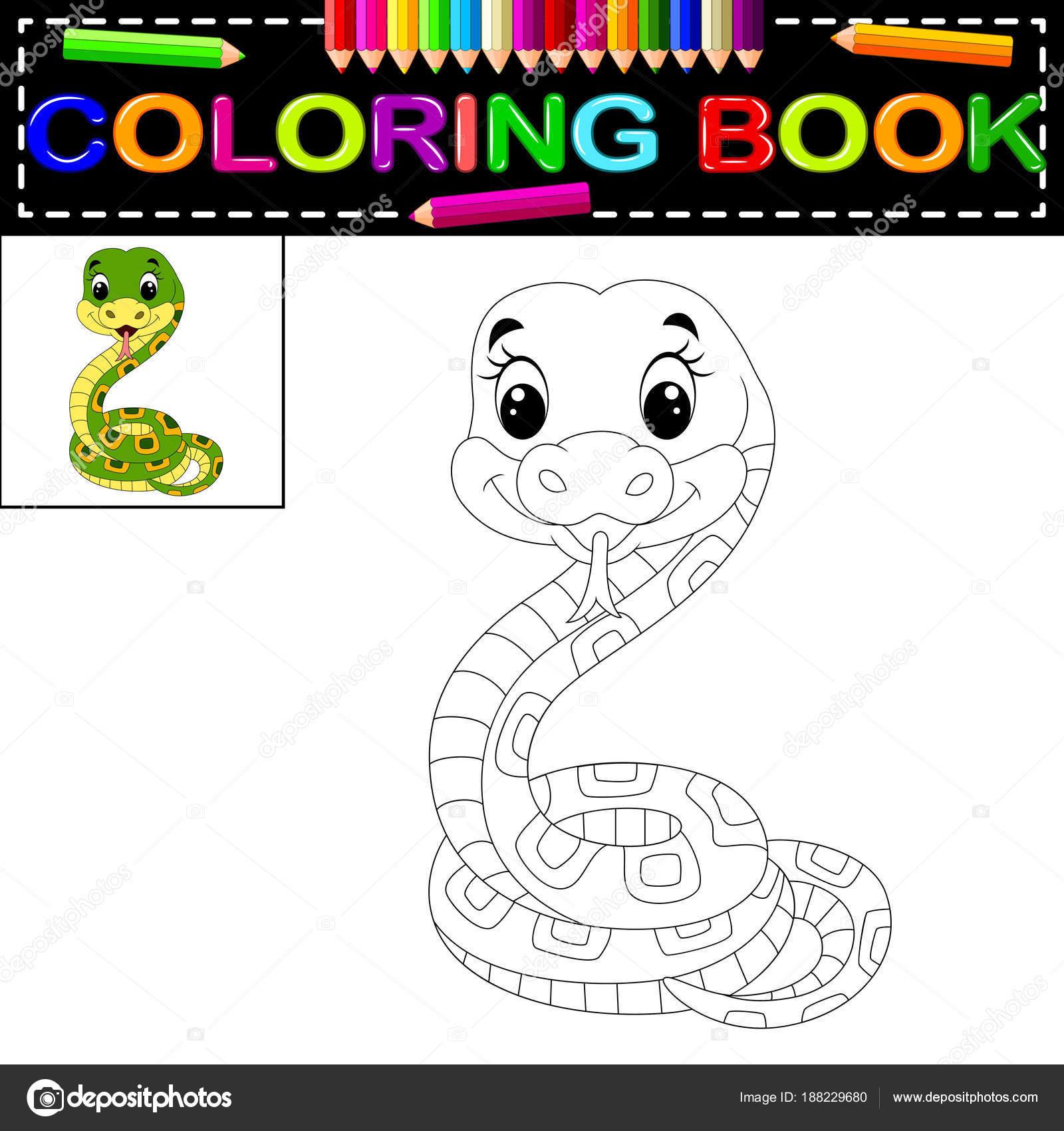 Großzügig Süße Schlange Färbung Seite Galerie - Druckbare ...