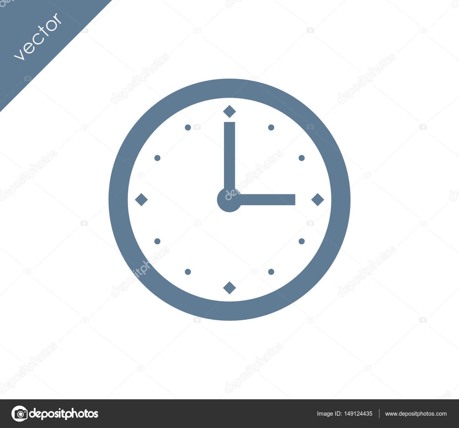 Tiempo Iconos De Reloj FacebookIcono Del Para UzMSLqpGV