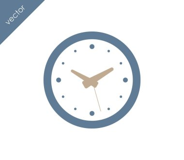 Time and clock icon