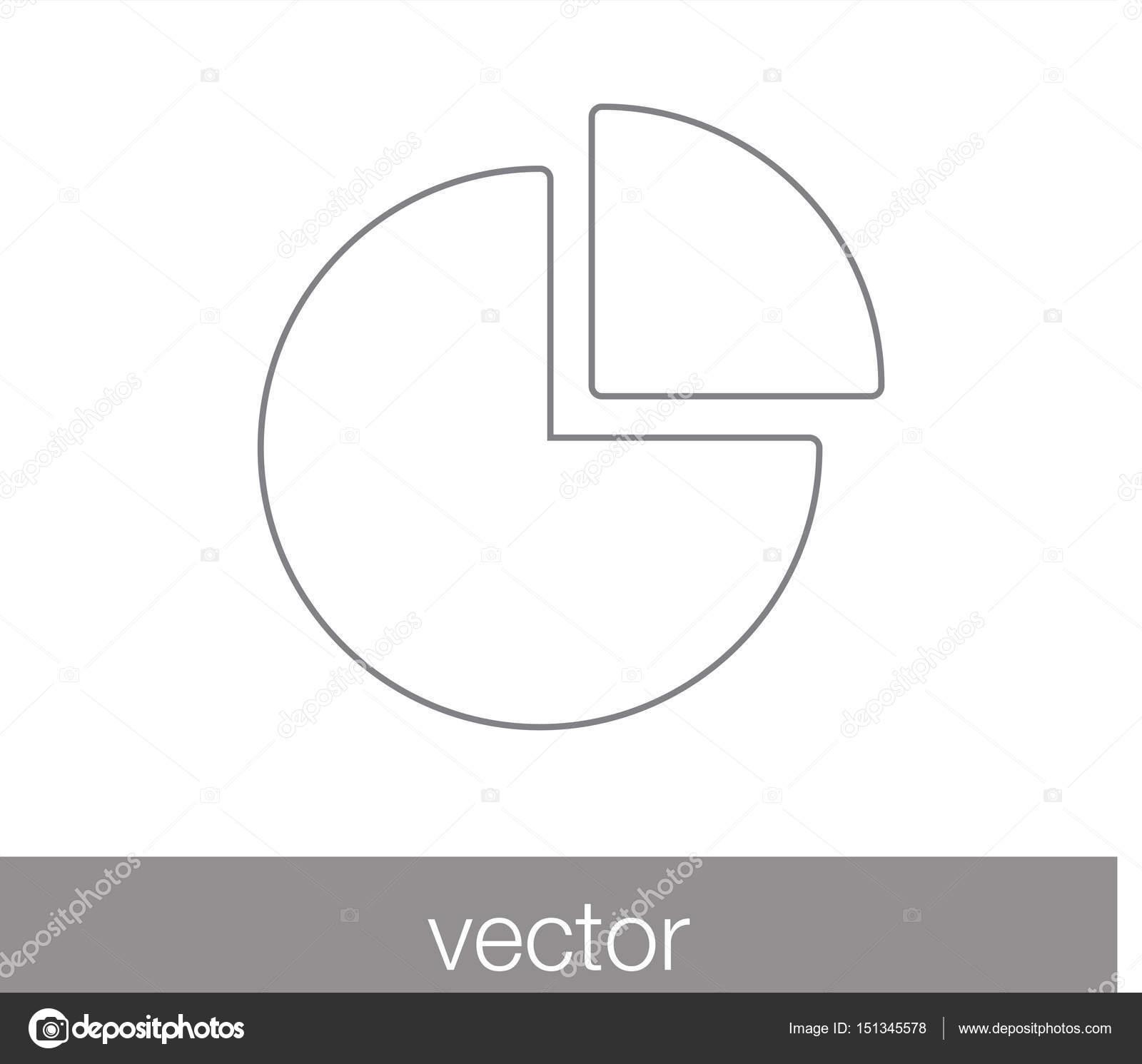 Pie chart icon stock vector signsandsymbolsemail 151345578 vector illustration of pie chart icon vector by signsandsymbolsemail geenschuldenfo Images