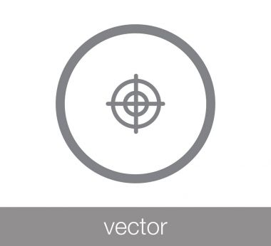 Target simple icon