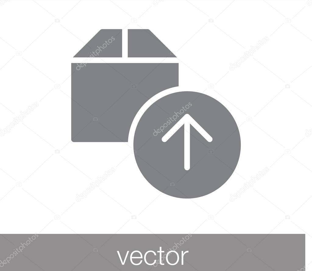 Cargo box icon