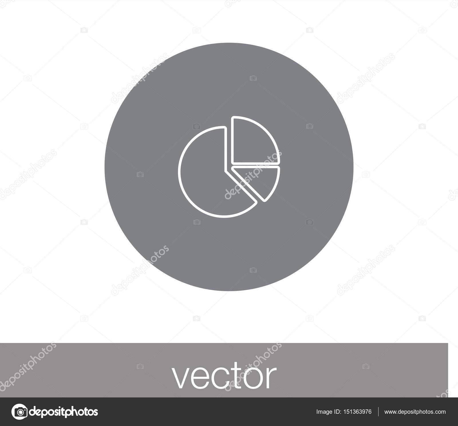 Pie chart icon stock vector signsandsymbolsemail 151363976 vector illustration of pie chart icon vector by signsandsymbolsemail geenschuldenfo Images