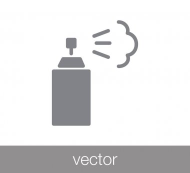 Spray flat icon