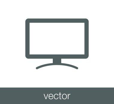 Display flat icon.