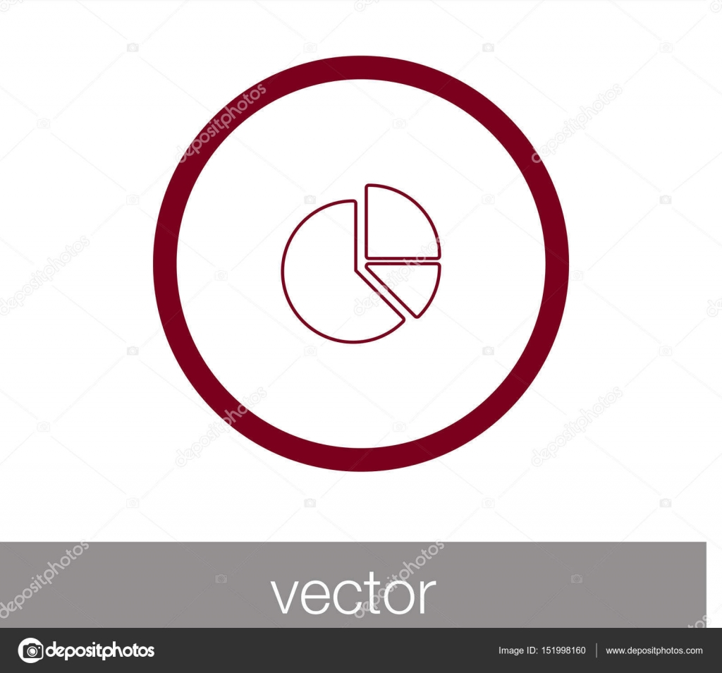 Chart icon symbol stock vector signsandsymbolsemail pie chart icon statistic symbol icon vector by signsandsymbolsemail geenschuldenfo Images