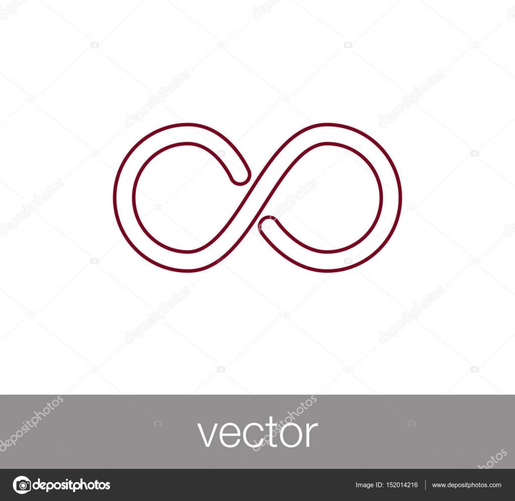 Infinite Symbol Icon Stock Vector Signsandsymbolsemail