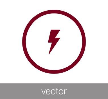 thunder web icon.