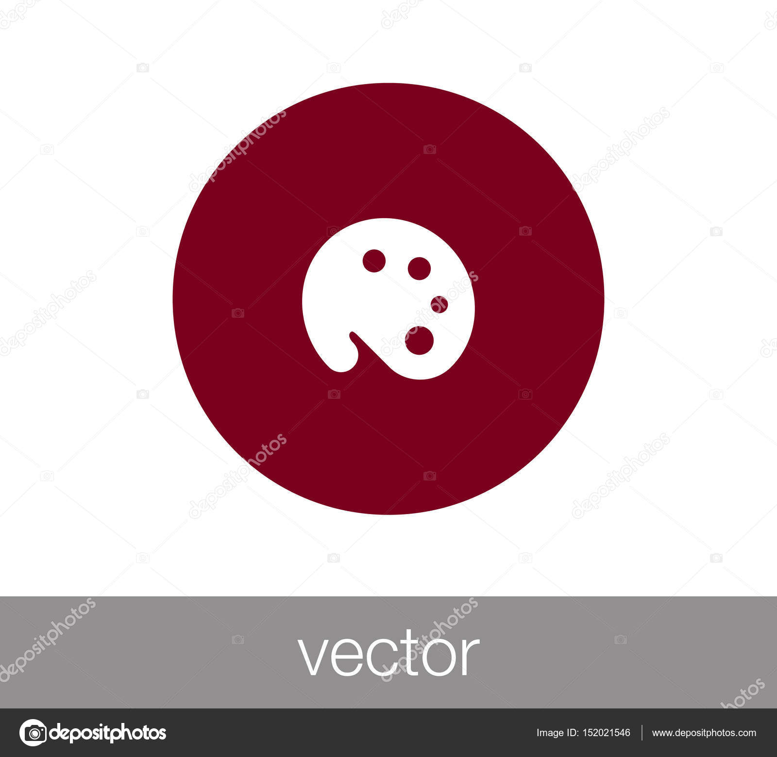 Color palette icon — Stock Vector © signsandsymbols@email.com #152021546