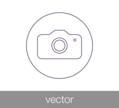 camera flat icon.