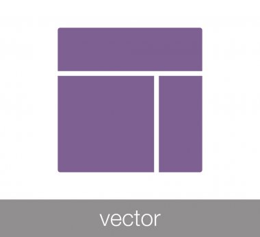 Slide layout icon