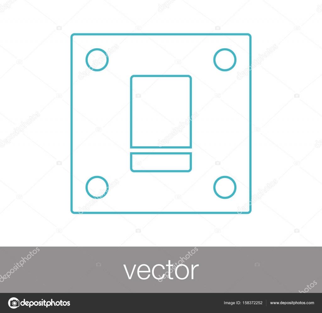 Schalter-Web-Symbol — Stockvektor © signsandsymbols@email.com #158372252