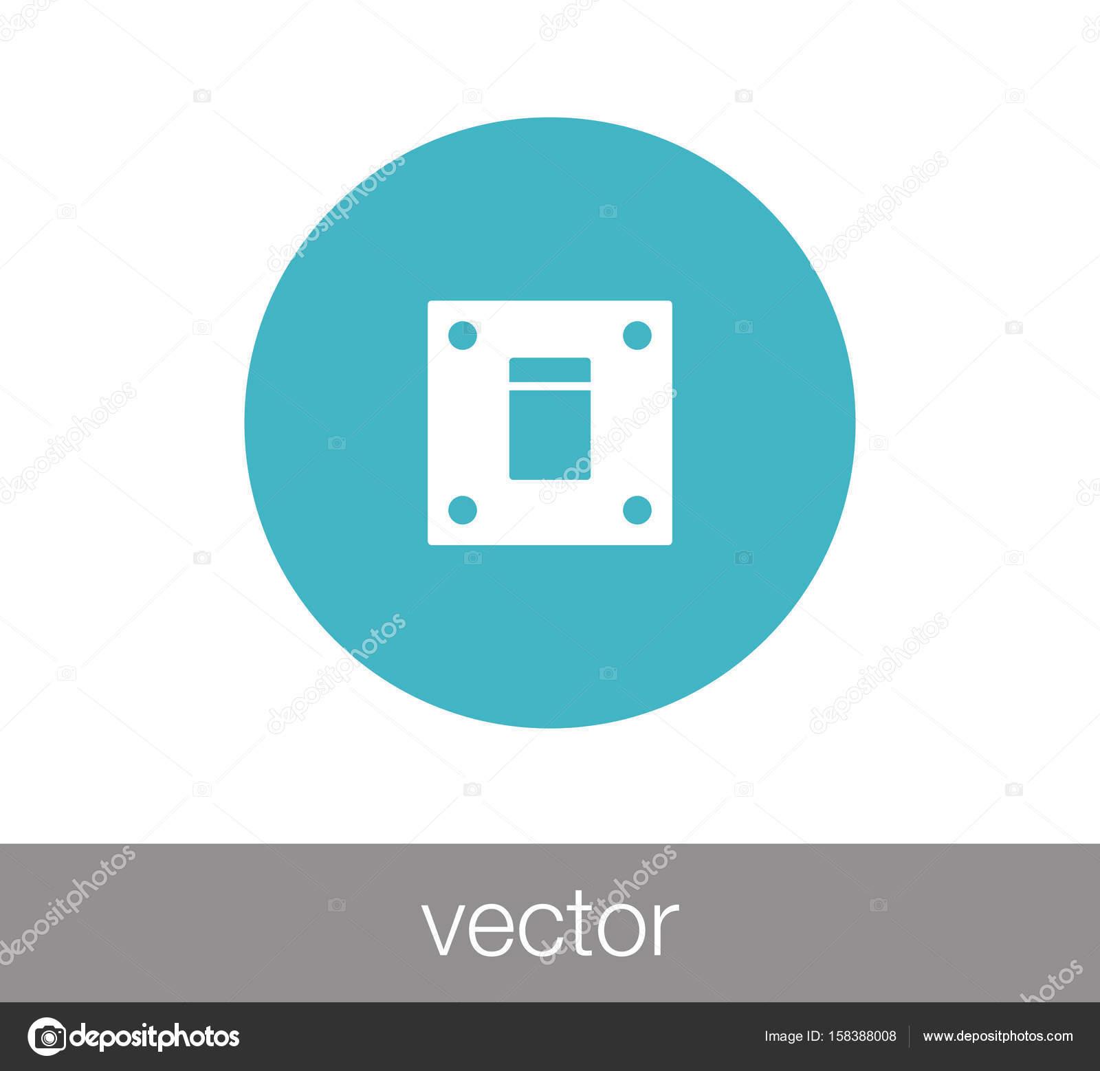 Schalter-Web-Symbol — Stockvektor © signsandsymbols@email.com #158388008