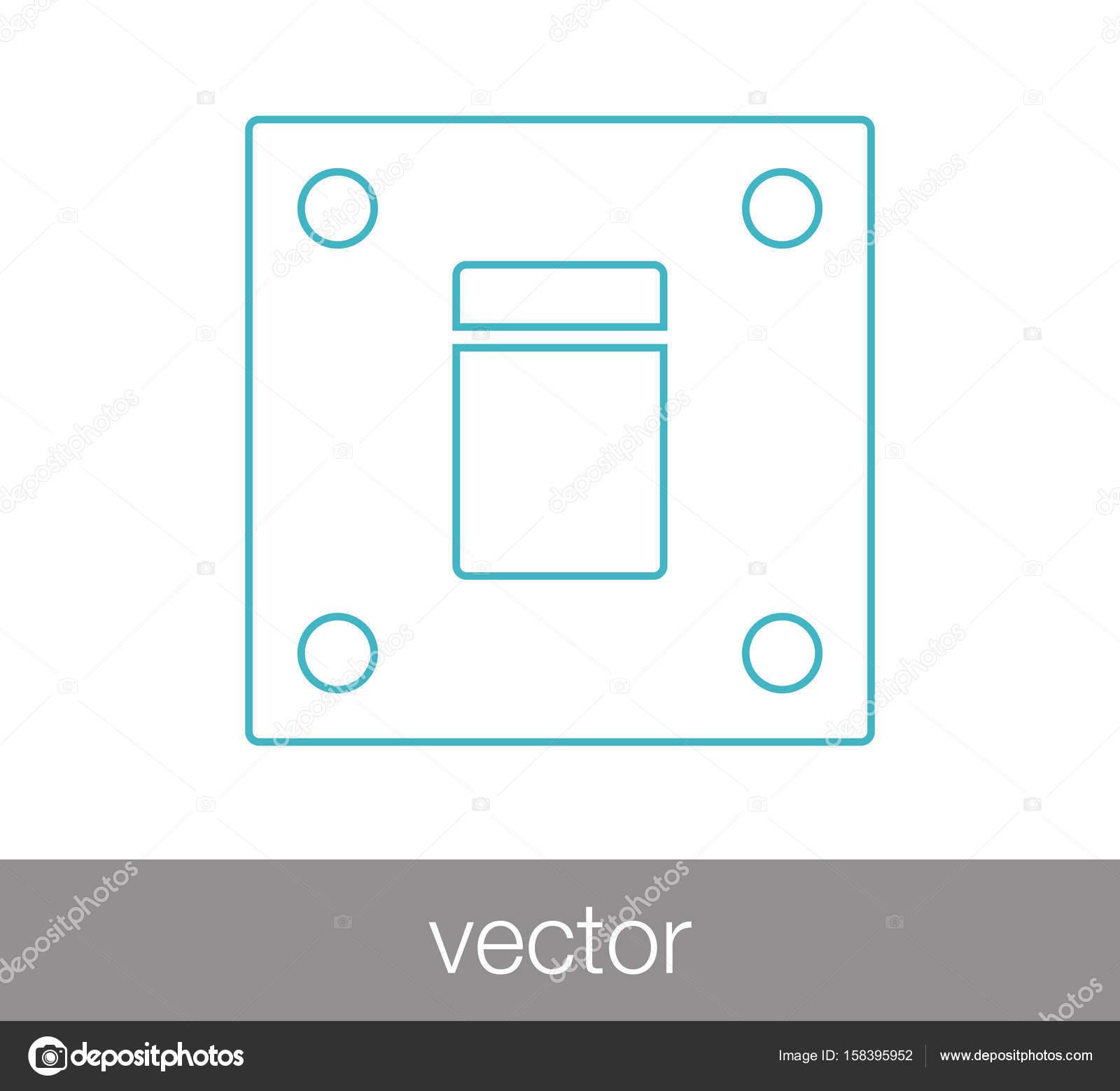 Schalter-Web-Symbol — Stockvektor © signsandsymbols@email.com #158395952