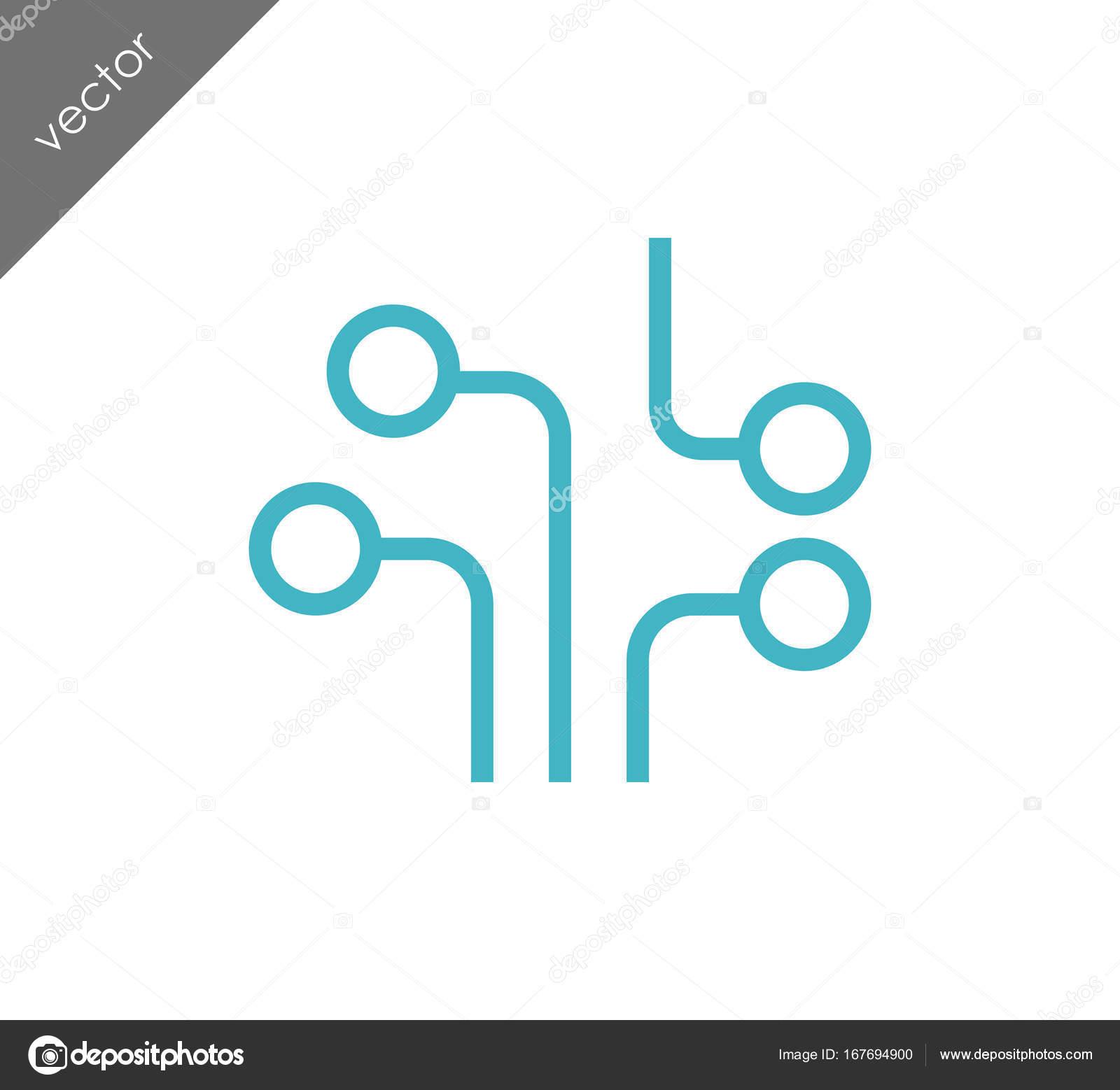 Schaltung-Web-Symbol — Stockvektor © signsandsymbols@email.com ...