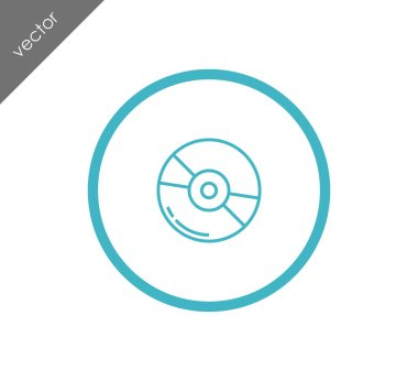 Compact disk icon
