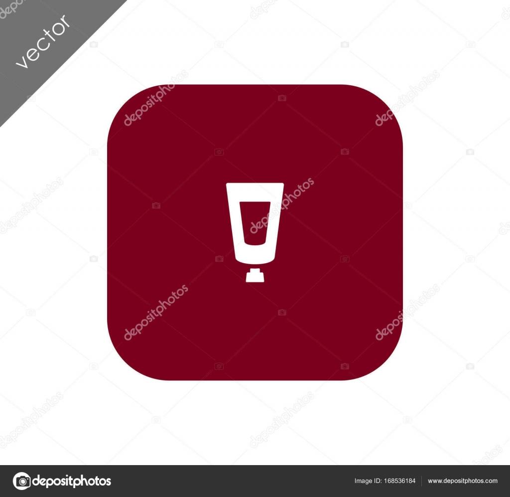 Icône Demballage De Peinture Acrylique Image Vectorielle