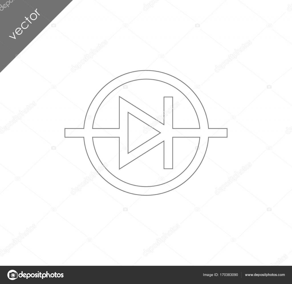 Berühmt Elektrisches Symbol Für Lautsprecher Fotos - Der Schaltplan ...