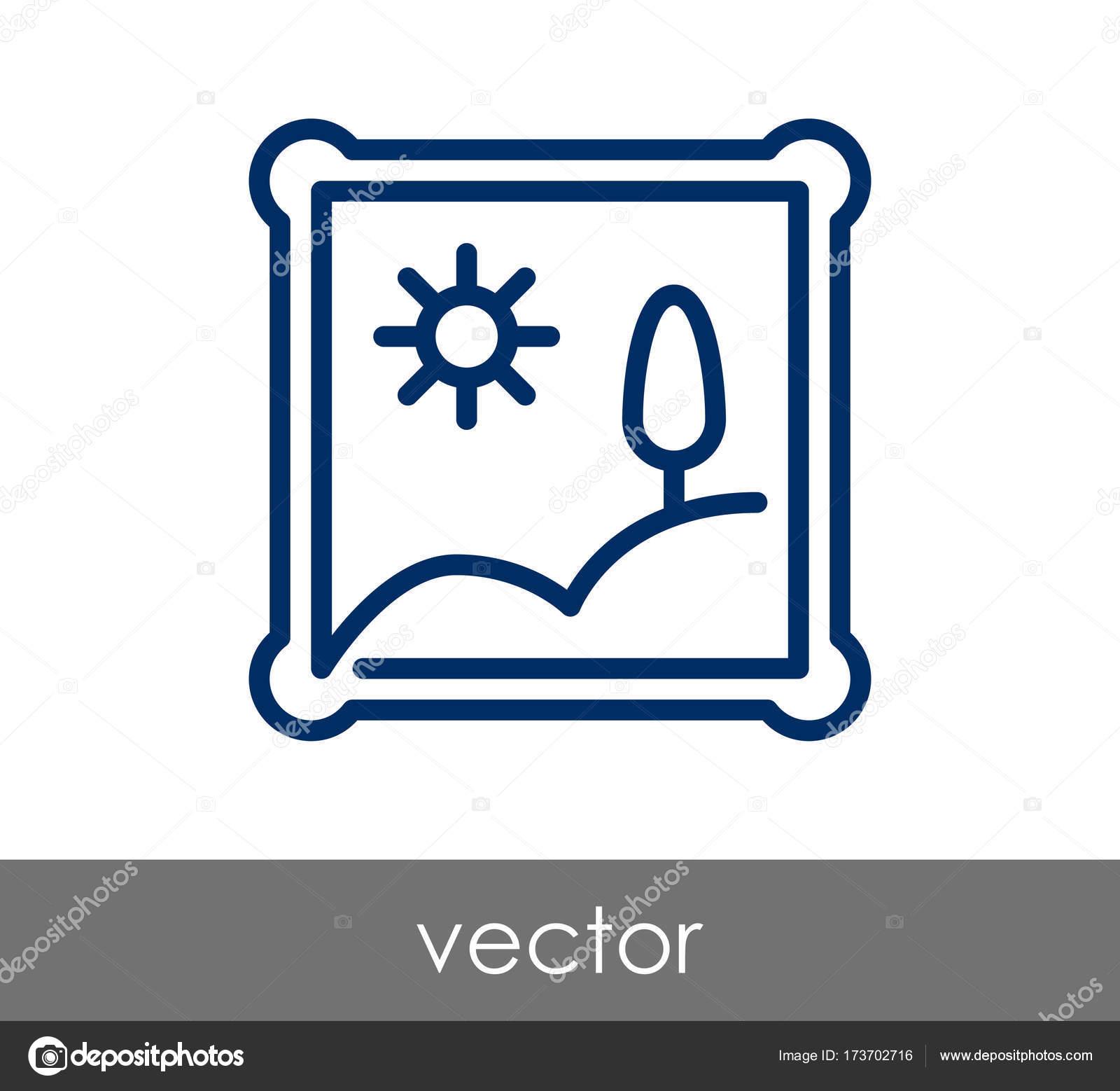 Rechteckiger Rahmen-Symbol — Stockvektor © signsandsymbols@email.com ...