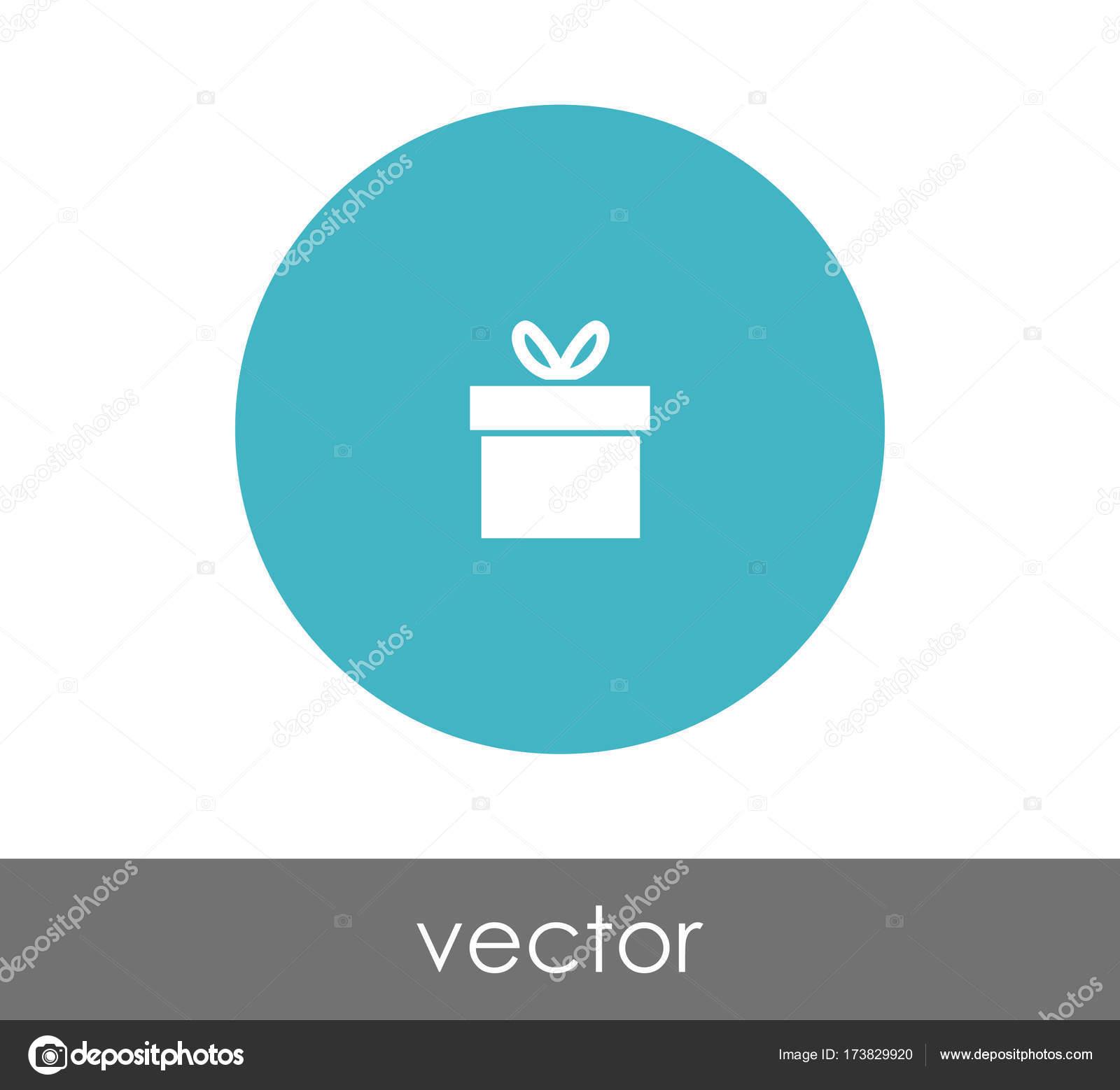 ギフトの円のアイコン ストックベクター signsandsymbols email com