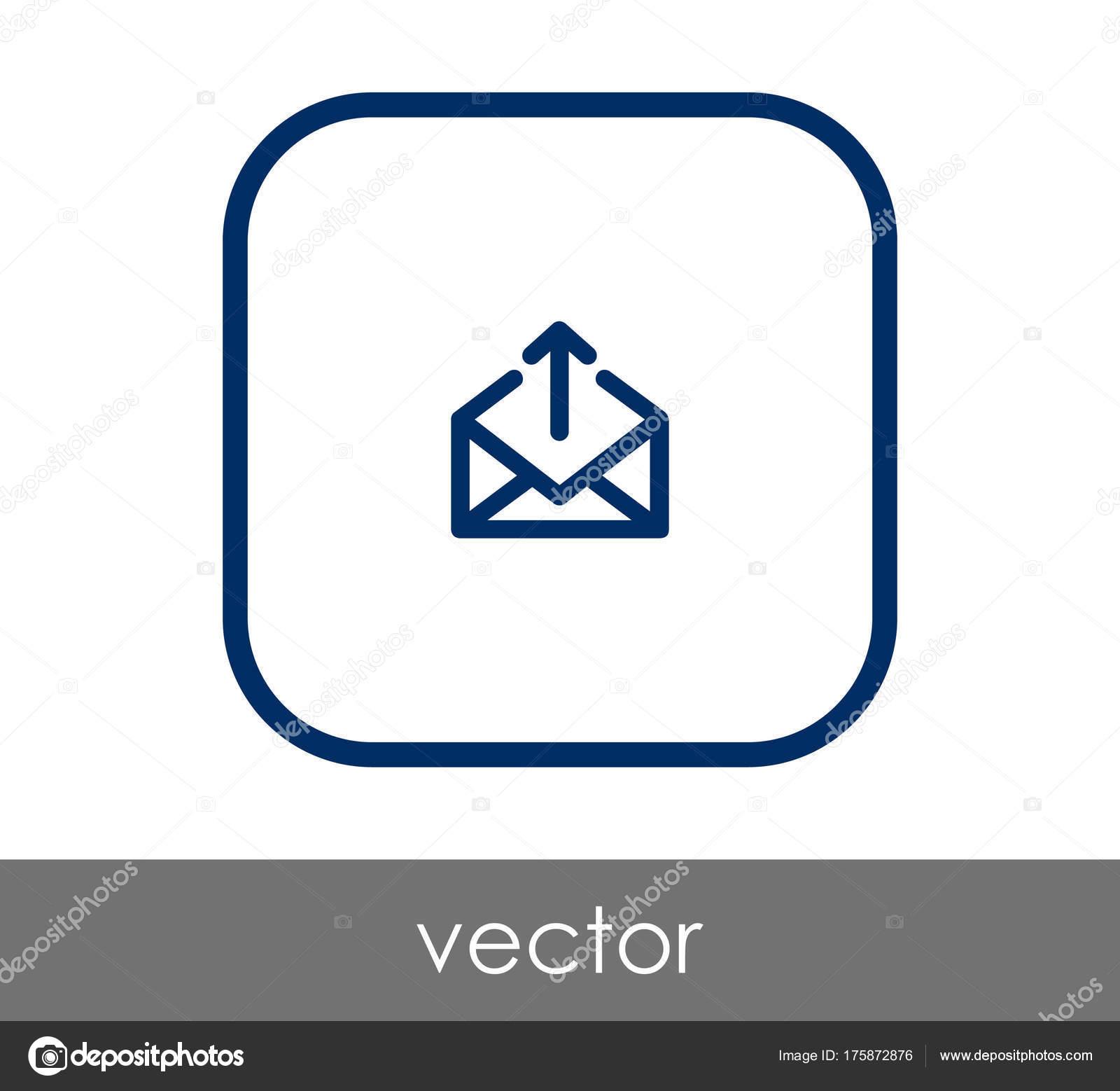 Senden Sie e-Mail-Symbol — Stockvektor © signsandsymbols@email.com ...
