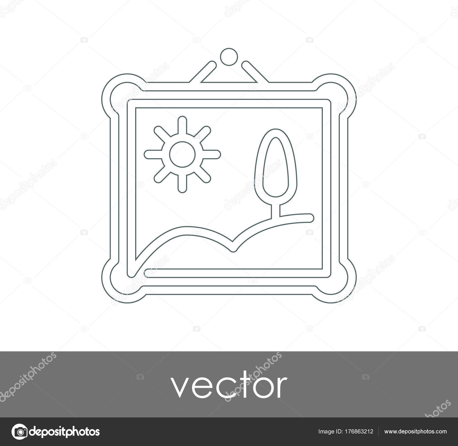 Icono Marco Para Diseño Web Aplicaciones — Archivo Imágenes ...
