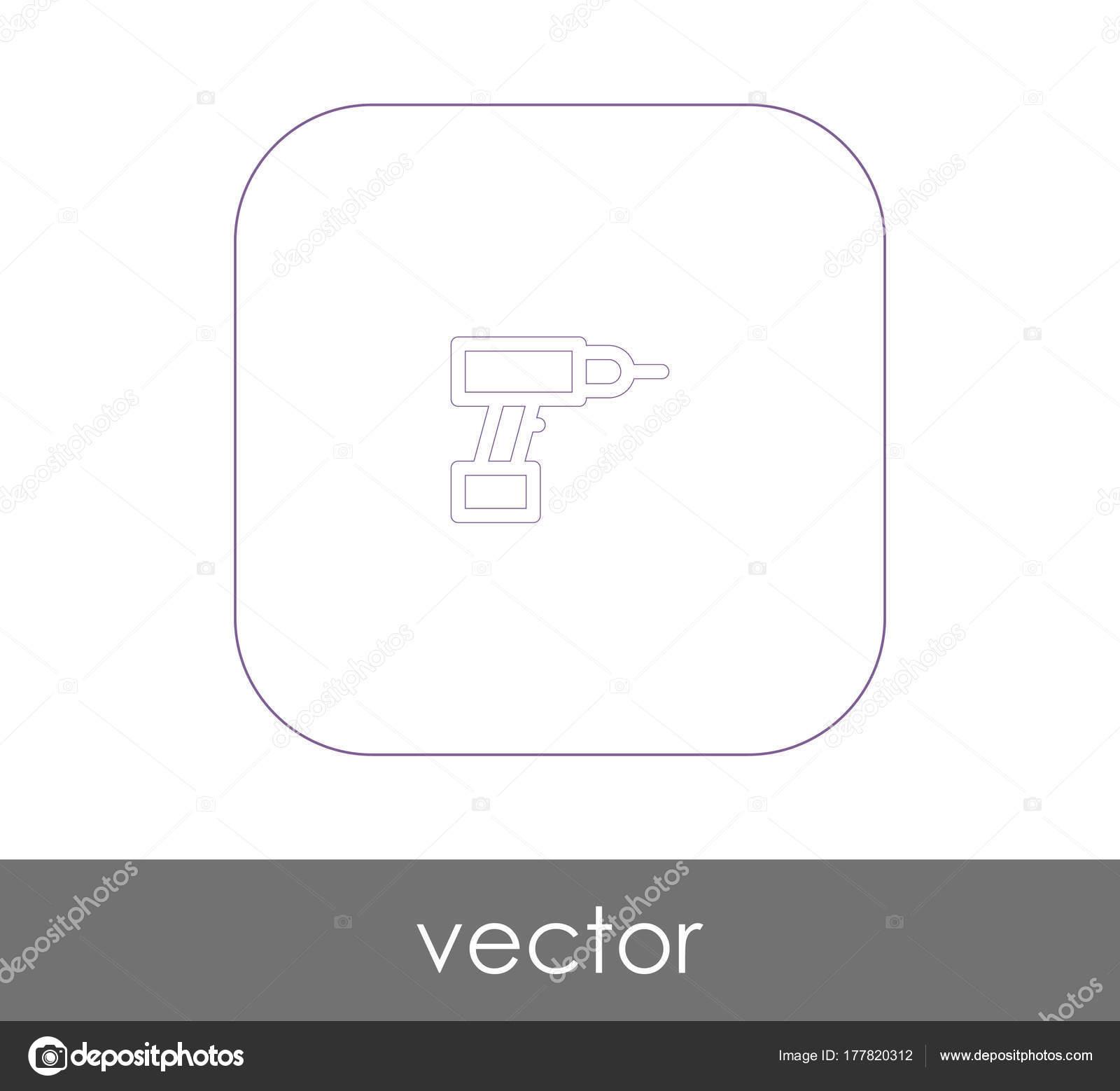 Elektrischen Bohrer-Symbol — Stockvektor © signsandsymbols@email.com ...
