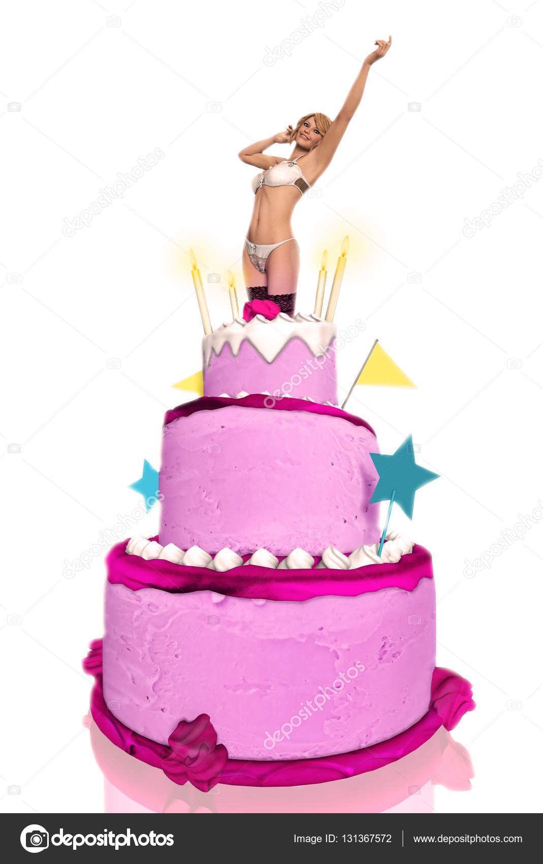 Groovy Hot Girl Jumping Out Of Birthday Cake Sexy Girl Jumping Out Of A Personalised Birthday Cards Bromeletsinfo