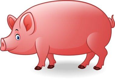 Cartoon adult pig