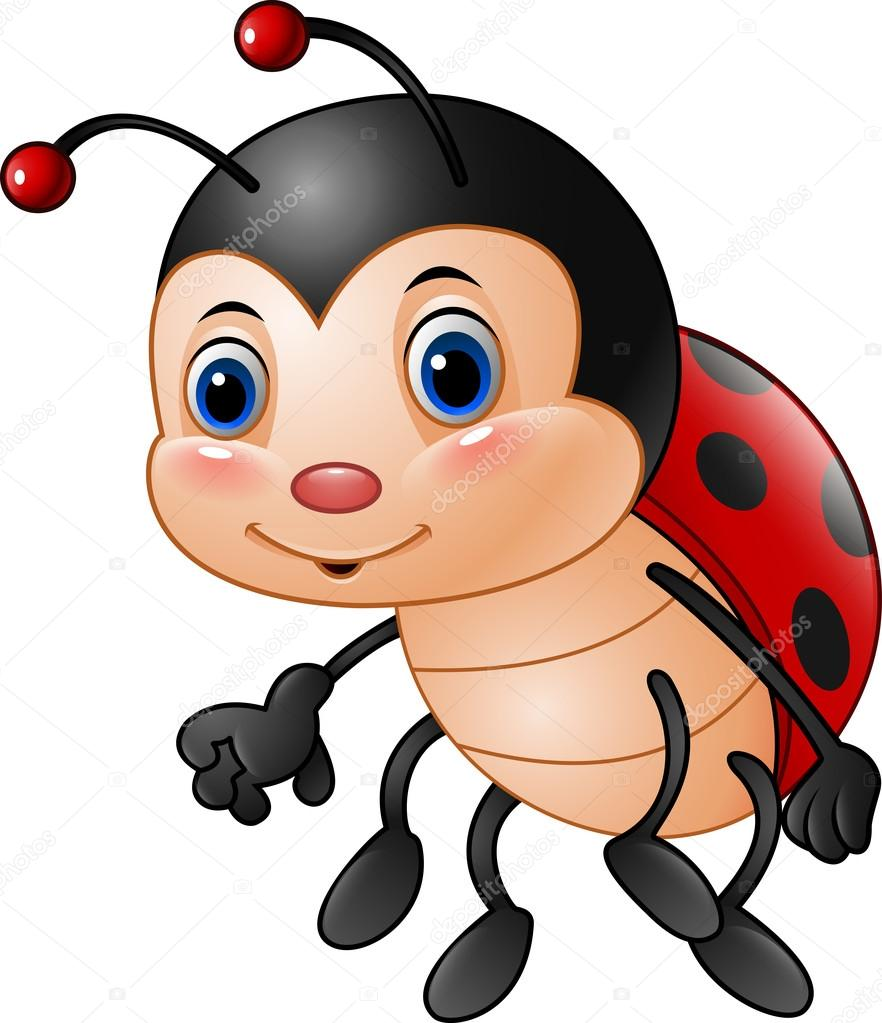 A Cartoon Ladybug cartoon funny ladybug — stock vector © dreamcreation01