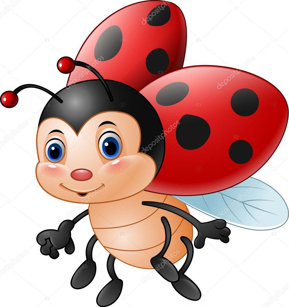 Coccinelle dr le de dessin anim image vectorielle dreamcreation01 126357294 - Dessin cocinelle ...
