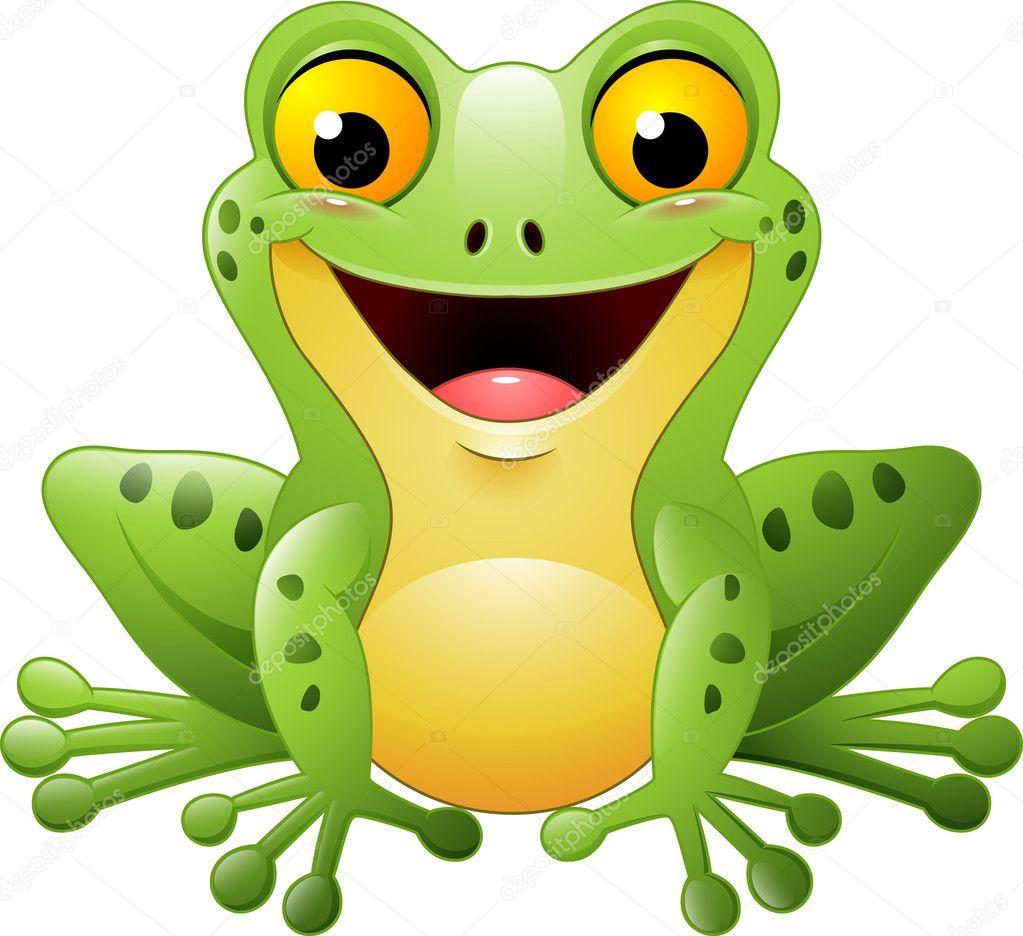 Stock Illustration Cartoon Cute Frog
