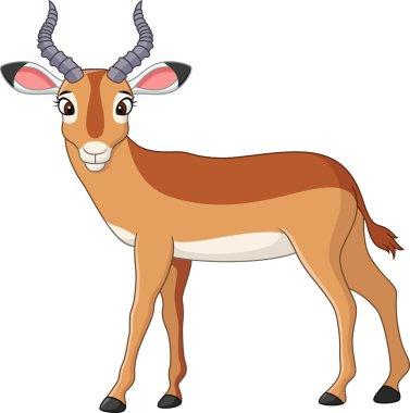 Happy Cartoon impala