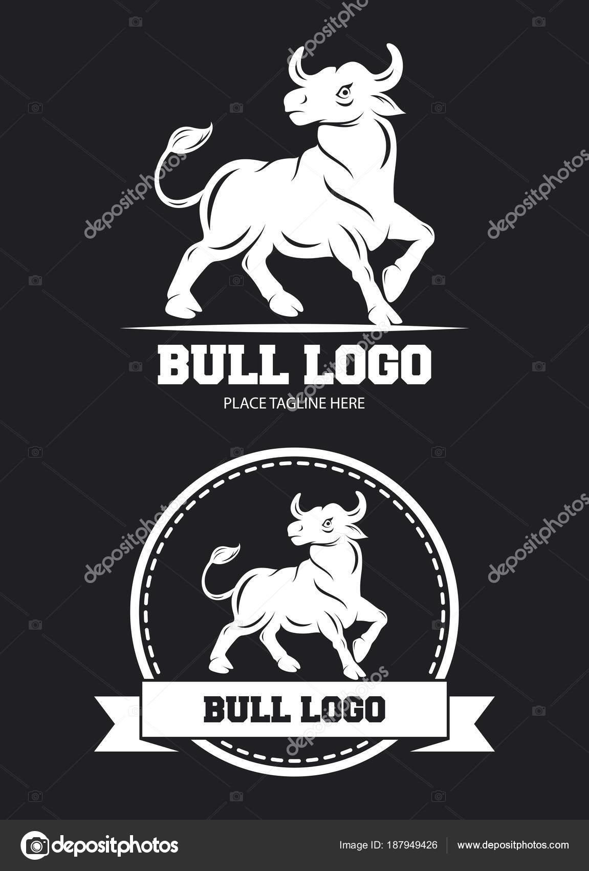 Plantilla Diseño Icono Toro — Vector de stock © dreamcreation01 ...