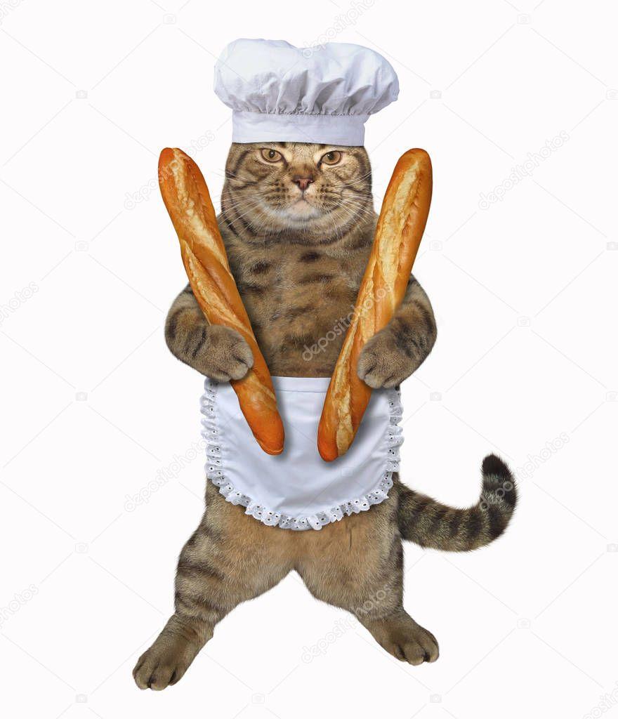 Copycat Albertson's French Bread Recipe from CDKitchen.com  |Cat French Bread