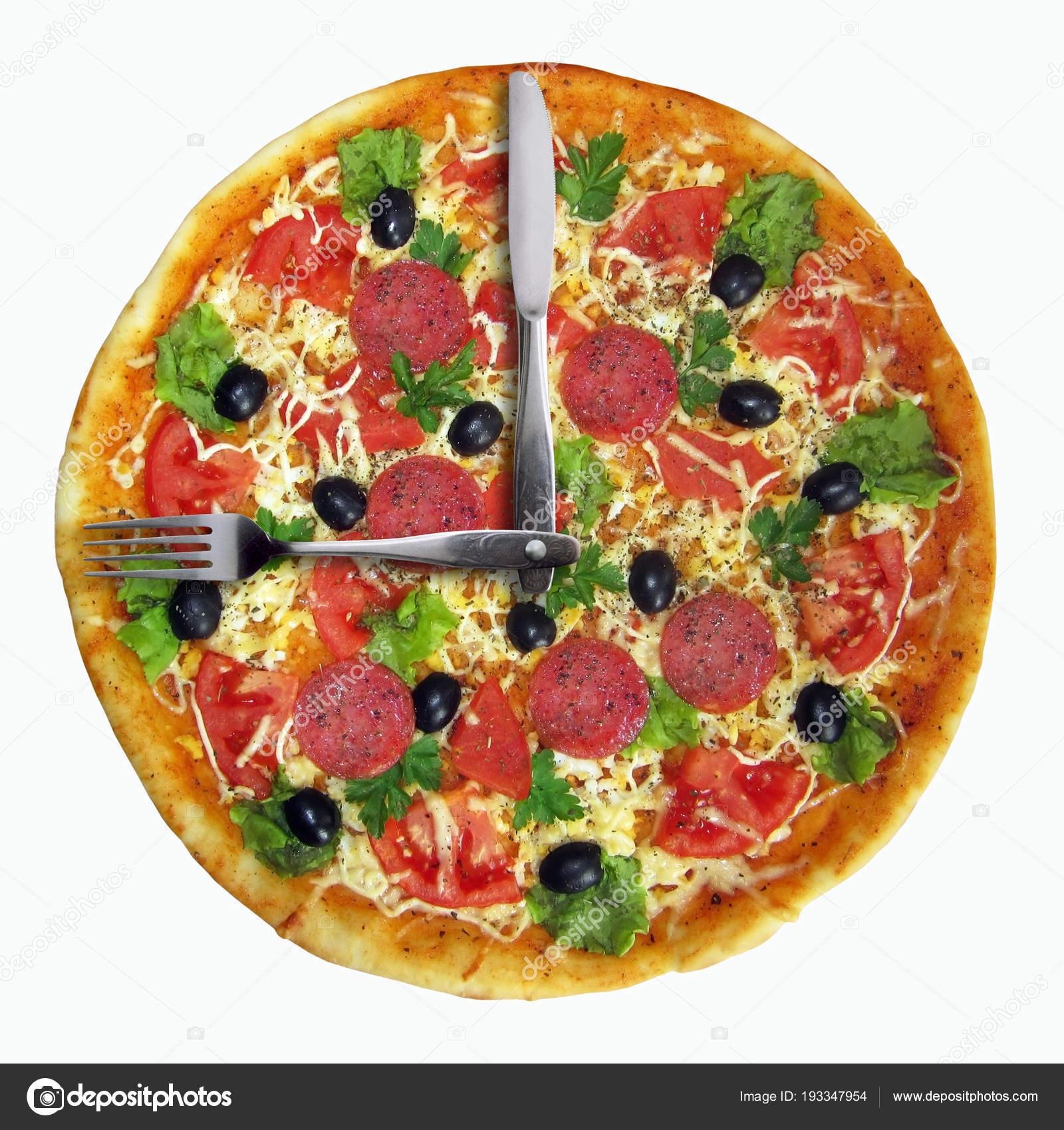 Foto Iridi193347954 De — Reloj Pizza © La Stock PlOkZuTXiw