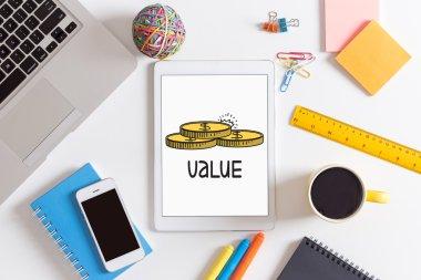 value  text, Concept