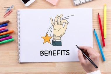 BUSINESS, BENEFITS CONCEPT
